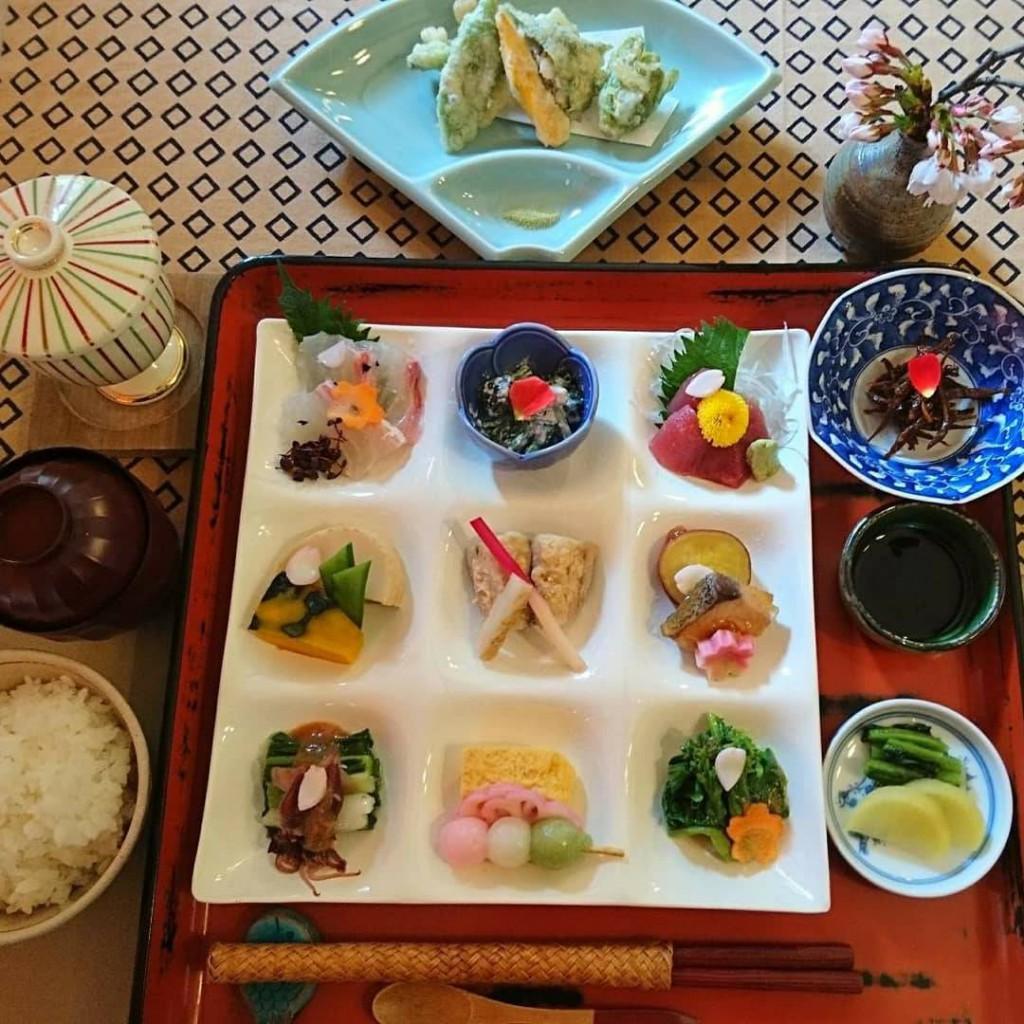 写真:桜姫膳